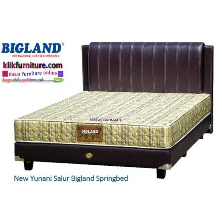 Kasur Bed Bigland kasur bigland new yunani salur agen termurah