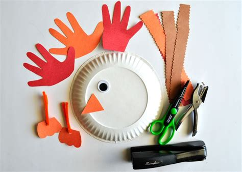 Paper Plate Chicken Craft - paper plate chicken craft for i crafty things