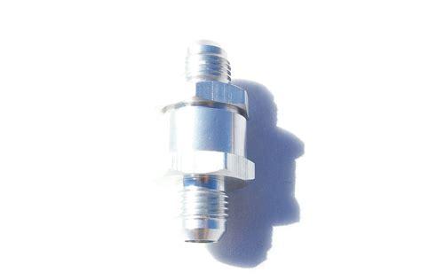 one way valve aluminum one way check valve 6an