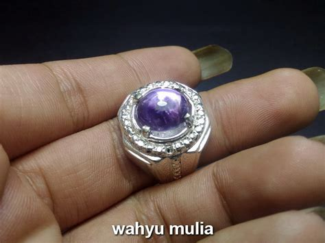 Bungur Tanjung dijual cincin batu kecubung ungu ametis bungur tanjung
