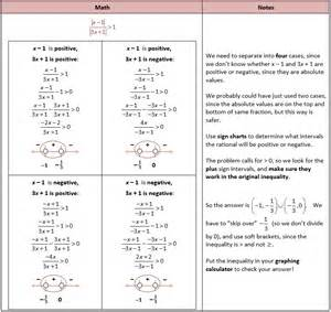 solving absolute value equations and inequalities she