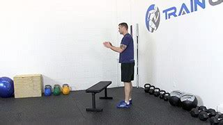 step up jumps on bench jump over bench exercise