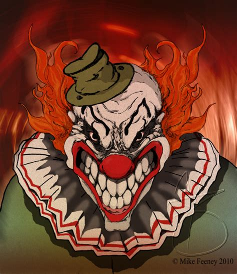 He Brave Little Toaster Creepy Evil Clown By Mikefeeney On Deviantart