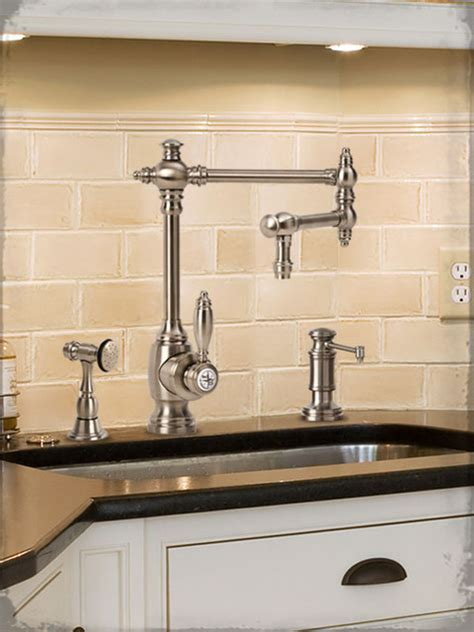 waterstone towson kitchen faucet traditional kitchen