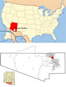 arizona usa map tucson arizona map usa
