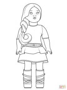 american doll coloring pages american saige coloring page free printable