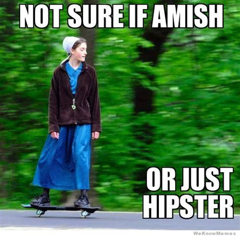 Amish Meme - funny beer signs