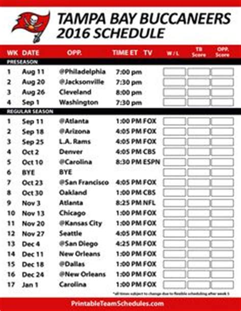 printable nfl thursday night schedule 1000 images about nfl football schedule 2016 on pinterest