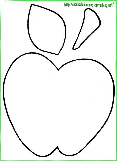 apple template printable šablona jablko ovoce a zelenina apples