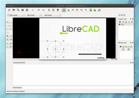 web drawing program librecad 1 0 0 released cross platform 2d cad drawing