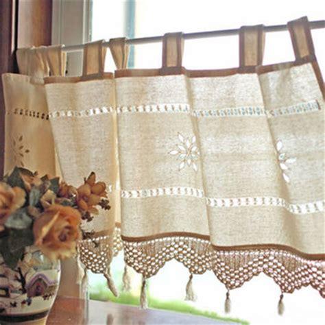Stile Country Francese by Stile Country Francese Cotone Lino Ricamo Tenda Tenda