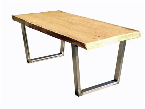 diy tapered table legs distressed steel slim tapered table legs set diy build