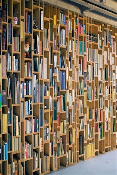 artistic bookshelves artistic bookcase that covers the wall from floor to