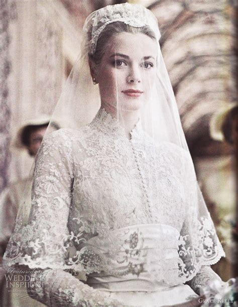 Wedding dress inspired by grace kelly part 1 wedding inspirasi
