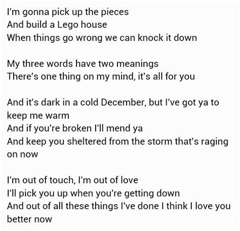 ed sheeran on my way lyrics lego house ed sheeran quotes pinterest
