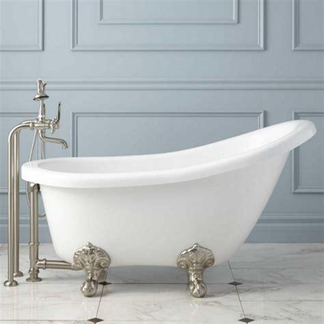 buy clawfoot bathtub victorian acrylic slipper clawfoot tub imperial feet