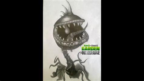 Imagenes De Zombies A Lapiz | dibujo de chomper planta carn 237 vora de plants vs zombies