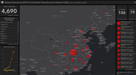 website tracks coronavirus outbreak  real time