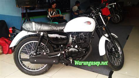 Tas Motor Kawasaki W175 motor retro kawasaki w 175 hadir di tasikmalaya harga rp