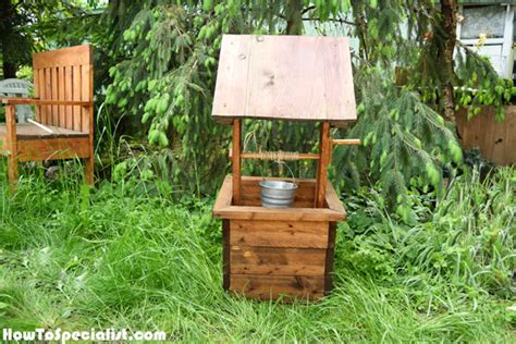 How To Build A Wishing Well Planter by How To Build A Wishing Well Planter Howtospecialist