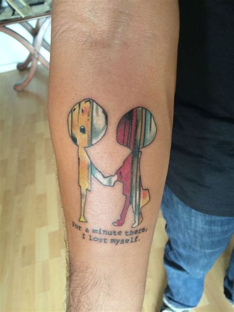 radiohead tattoo the world s catalog of ideas
