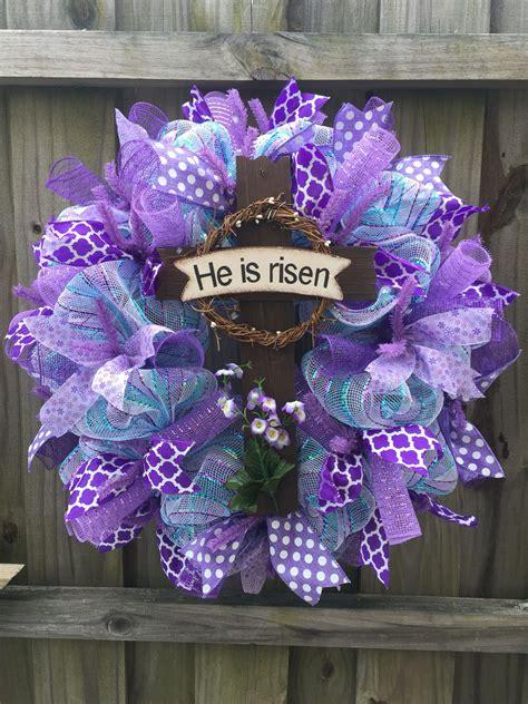 easy diy easter wreaths door decorations youd