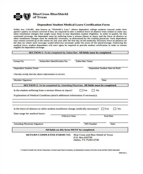 forms and templates toastmasters for texas central medical leave form medical certification for sickness