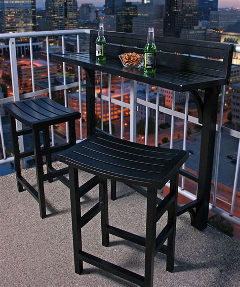 Patio Mini Bar by 25 Best Condo Balcony Ideas On Small Patio