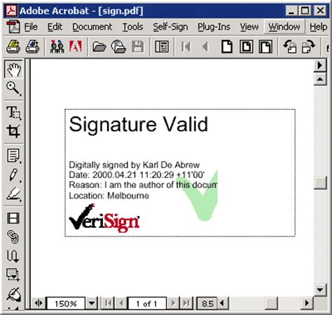 free electronic signature pdf planet pdf using digital signatures with acrobat