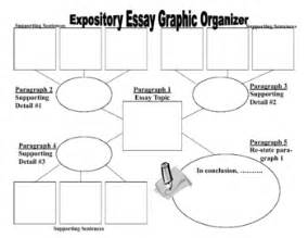 Graphic Organizers For Writing Expository Essays by Expository Essay Graphic Organizer Expository Writing