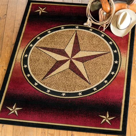 Southwest Rugs: Ombre Star Rug Collection Lone Star