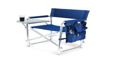 coleman portable deck chair with table coleman portable deck chair with side table