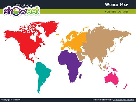 free world map for powerpoint