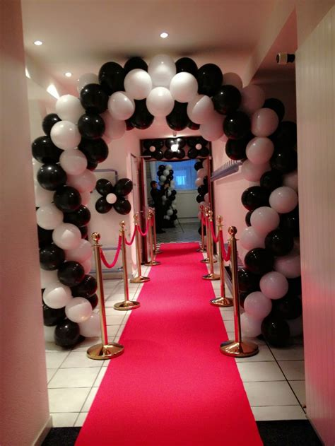 Black And White Decorations by Black And White 21st Birthday Ideas