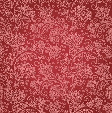 red pattern vector red floral background vector art graphics freevector com
