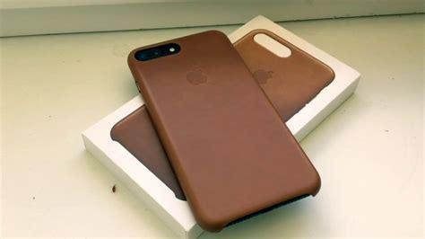iphone 7 plus iphone 8 plus leather saddle brown