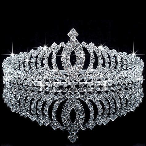 wedding tiaras and crowns vogue crystal hair accessory wedding bridal princess
