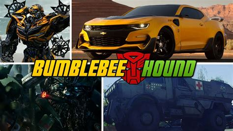transformers 5 hound bumblebee and hound transformers 5 vehicles