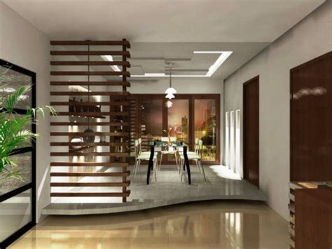 Restaurant Dividers Design Ideas by Modern Minimalist Dining Room Design Brilliant Solution With The Raised Floor Home