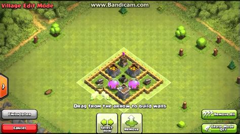 layout of coc th3 clash of clans best town hall 3 defense coc th3 best