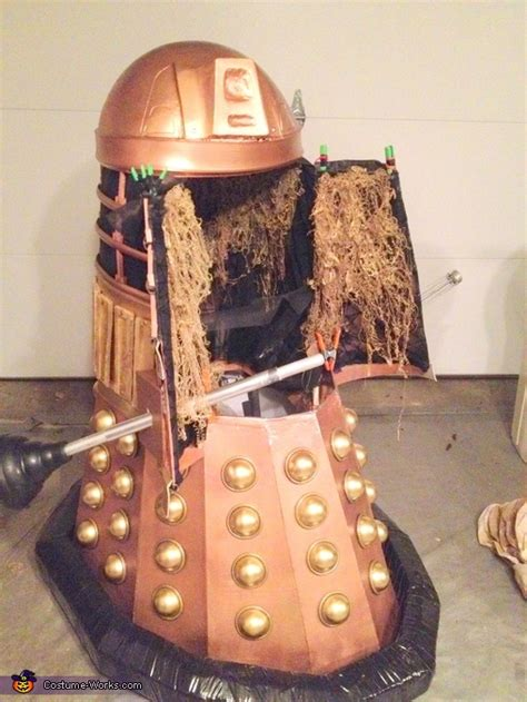 diy dalek dress doctor who dalek costume diy photo 10 10