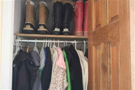 Coat Closet Systems Monograms N Mud Mudroom Mess Where It All Went