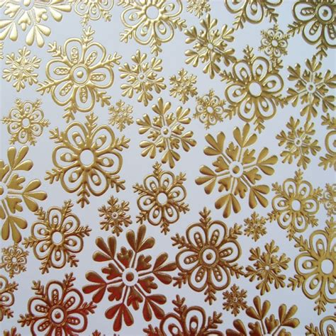 printable gold snowflakes kanban background card gold foiled snowflakes