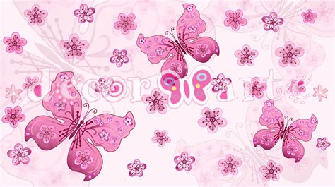 cenefas de flores cenefa mariposas imagui