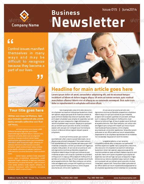 2 pages multi purpose business newsletter by mjcreative