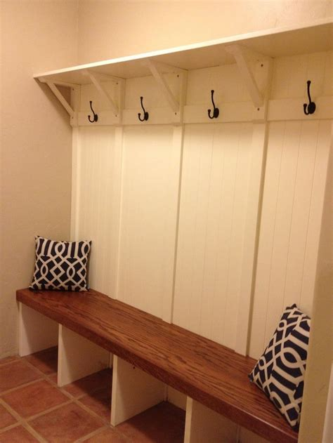 built in bench mudroom pin by abbey jo on design ideas pinterest