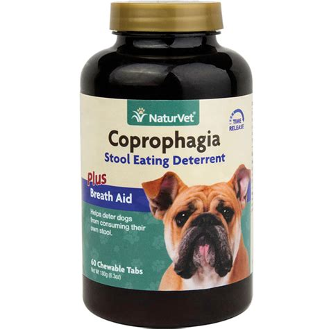 coprophagia in dogs naturvet coprophagia deterrent 60 tablets stops dogs