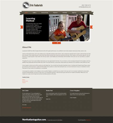 guitar tutorial websites guitar lessons wordpress website custom plugins