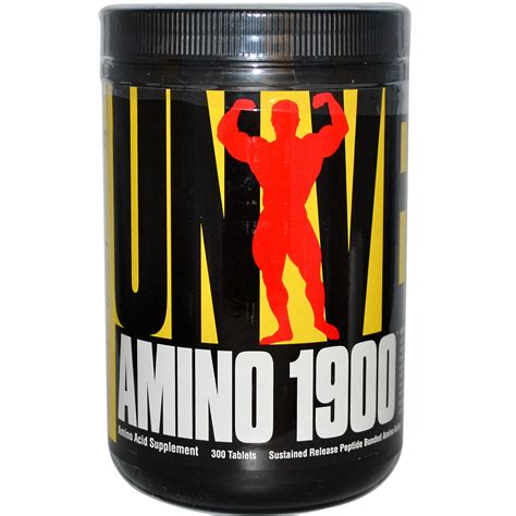 universal nutrition amino 1900 amino acid supplement