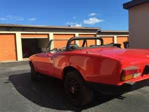fiat spider convertible top 1981 fiat spider 124 convertible for sale photos